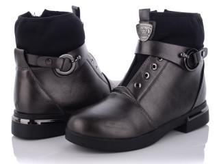 Ботинки женские Xifa-JH70131-3-графит