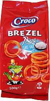 Соломка CROCO BREZEL 100г кільця солена
