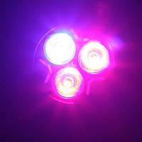 Светодиодная фито лампа Oasisled e27 3Вт для растений