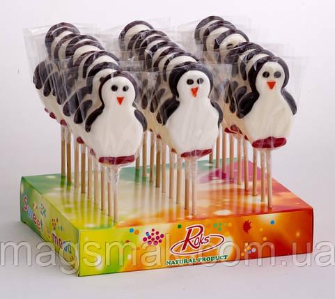 Льодяники на паличці Пінгвін, 50 г, фото 2