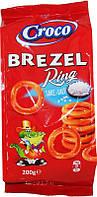 Соломка CROCO BREZEL 200г кільця солена