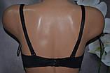 Бюстгальтер Han почти гладкая модель Дшка черный, фото 3