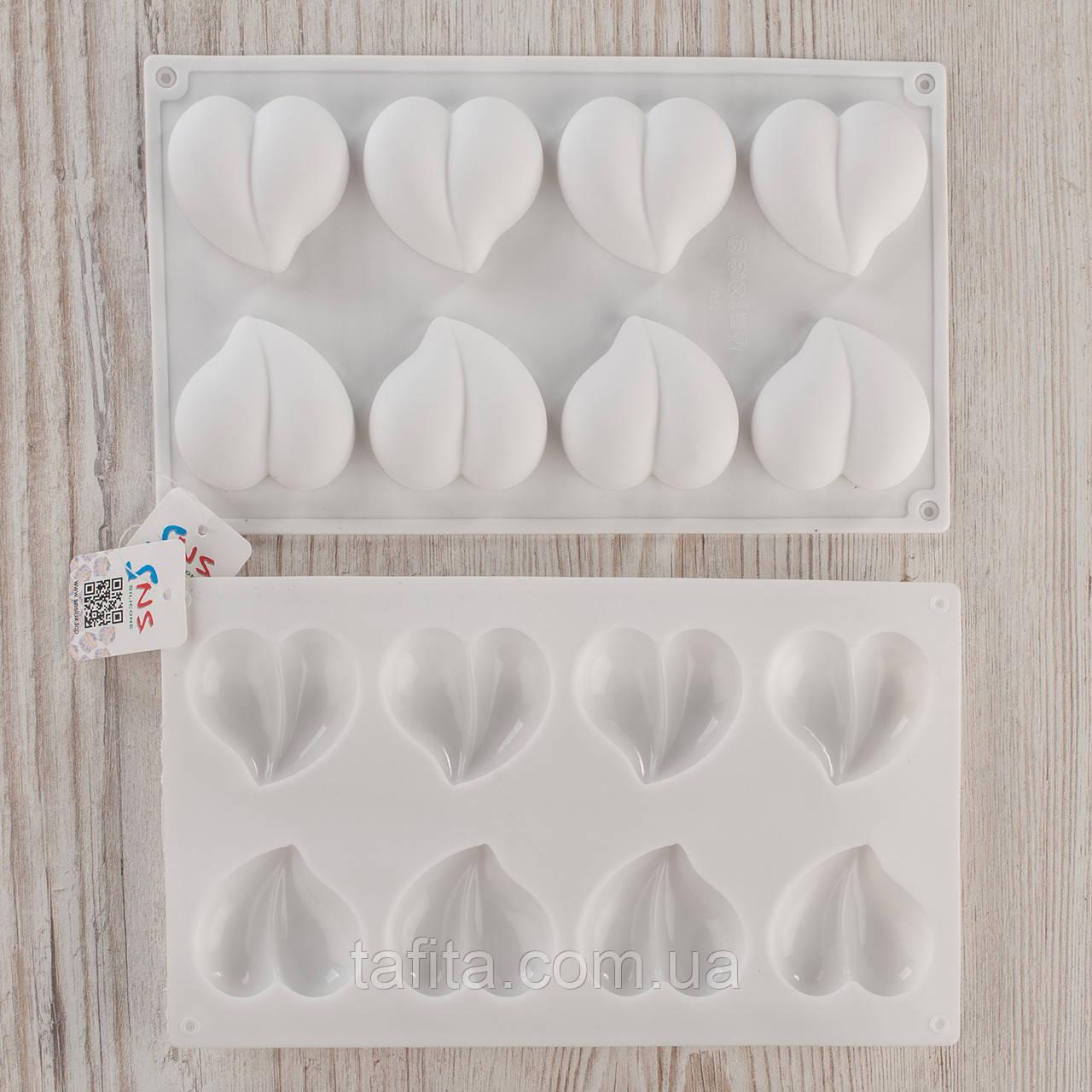 Форма Сердца для муссовых пирожных