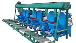 Экструдер для производства топливных брикетов из биомассы DINGLI