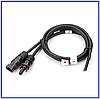 Коннектор-кабель для солнечных панелей MC4 (внутренний) 4кв.мм