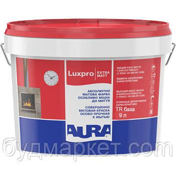 Краска AURA Luxpro Extramatt интерьерная (матовая) (база TR - под колеровку), 2,25 л