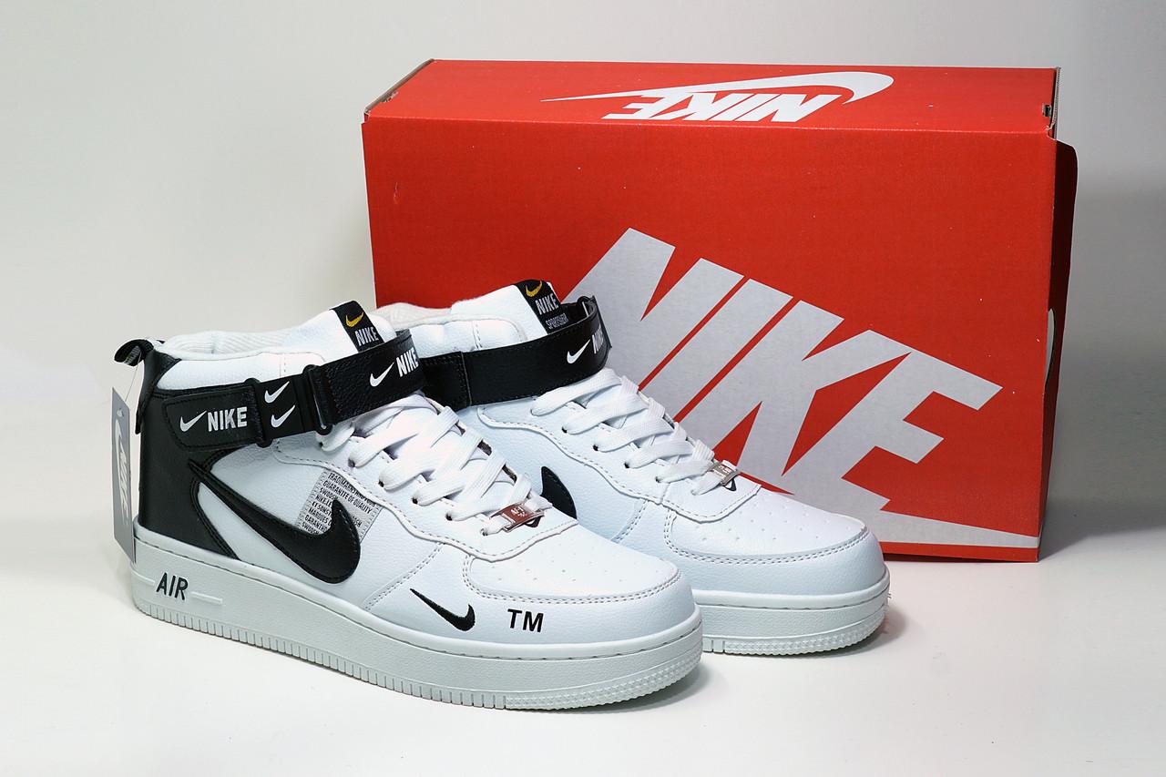 Мужские зимние кроссовки Nike Air Force 1