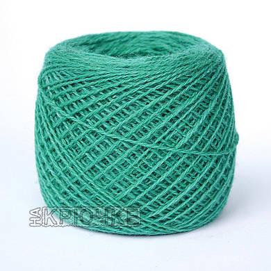 Полушерстяная пряжа для ручного вязания Ярослав, цвет 271 бирюзовый