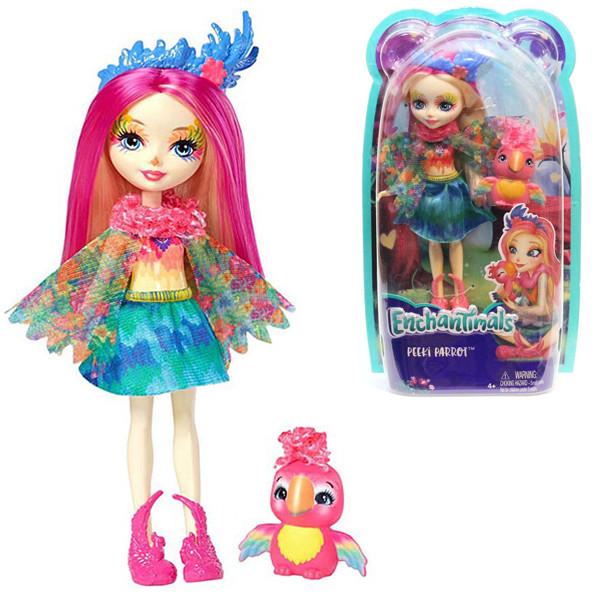 Кукла Enchantimals Попугайчик Пикки