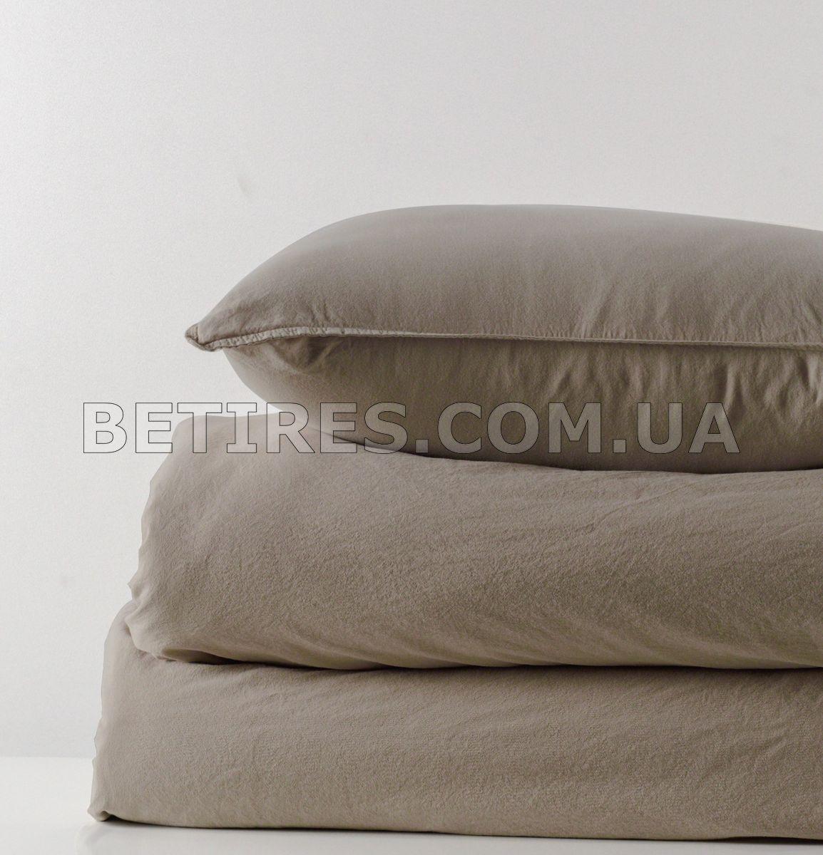 Комплект постільної білизни 200x220 LIMASSO OXFORD TAN STANDART бежевий