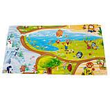 Килимок дитячий «Мультфільм», т. 8 мм, хім зшитий пінополіетилен,120х400 див. Україна, TERMOIZOL®, фото 3