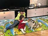 Килимок дитячий «Мультфільм», т. 8 мм, хім зшитий пінополіетилен,120х400 див. Україна, TERMOIZOL®, фото 4
