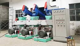 Брикетировочная машина для биомассы DINGLI