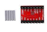 Модуль драйвера шагового двигателя A4988 Red, фото 2