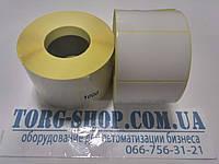 Этикетка полуглянцевая Vellum 52х40 (1000 шт. в рулоне) втулка 41мм, фото 1