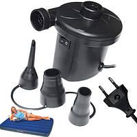 Электрический насос для матраса компрессор лодки мячей Air Pomp 205 от сети 220 Вольт