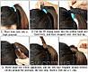 Хвост прямой на ленте, накладной шиньон 60 см, длинный искусственный, Волосся штучне, накладне волосся, фото 9