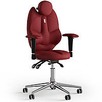 Кресло KULIK SYSTEM TRIO Экокожа с подголовником без строчки Красный 14-901-BS-MC-0205, КОД: 1676907
