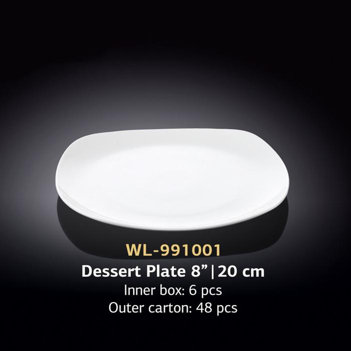 Тарелка десертная (Wilmax, Вилмакс, Вілмакс) WL-991001