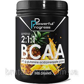 Амінокислоти Powerful Progress Amino BCAA 2:1:1 (500g)