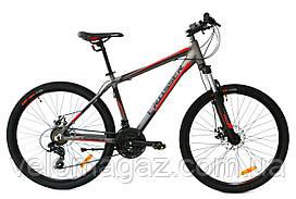 """Велосипед Crosser Grim*19 26"""" горный алюминиевый серый"""