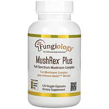 "Комплекс грибов California GOLD Nutrition, Fungiology ""MushRex Plus"" (120 капсул)"