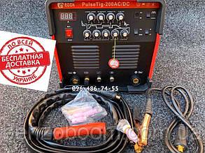 Аргонно-дуговой сварочный аппарат Edon PulseTig 200AC/DC