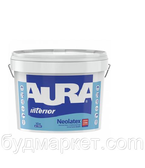 Краска AURA Neolatex интерьерная износостойкая (глубокоматовая) (база TR - под колеровку),0,9л