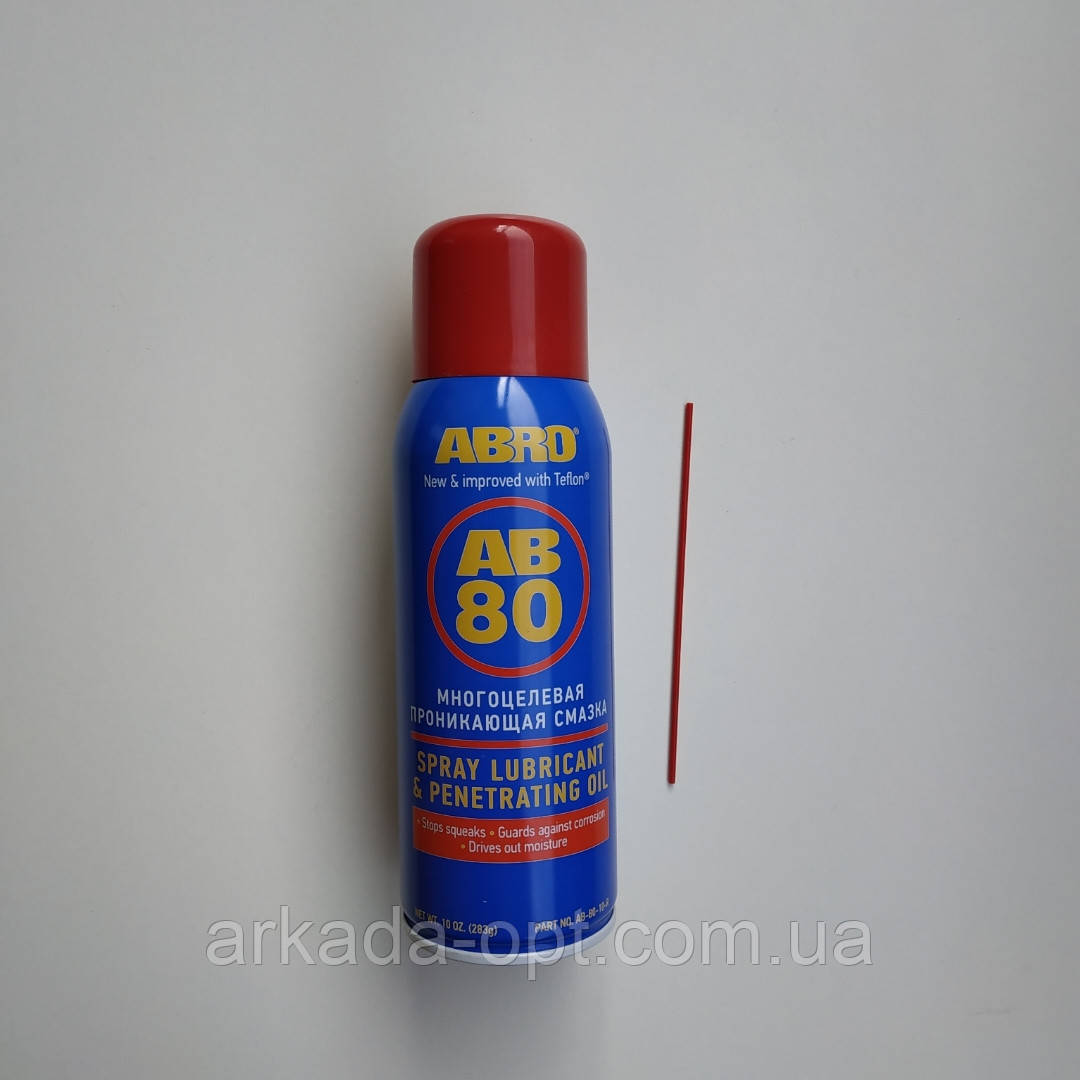 Смазка универсальная проникающая Abro АВ 80 big 400 мл оригинал