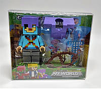 Игровая фигурка героя с аксессуарами Minecraft: My World (19-22с)