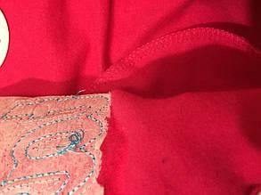 Костюм двойка  детский утепленный на флисе 5-10 лет малиновый, фото 2