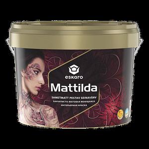 Eskaro Mattilda Бархатисто-матовая акрилатная моющаяся интерьерная краска