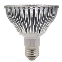Светодиодная лампа для растений е27 18Вт с ИК+УФ излучением
