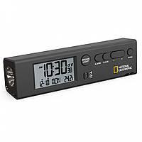 Часы National Geographic Thermometer Flashlight Black (9060300)