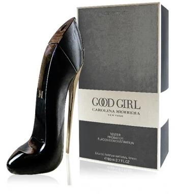 80 мл  ТЕСТЕР  Good Girl Carolina Herrera (ж) - черная туфля