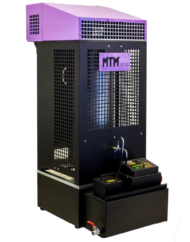 Печь на отработке MTM 17-33 кВт (Фото)