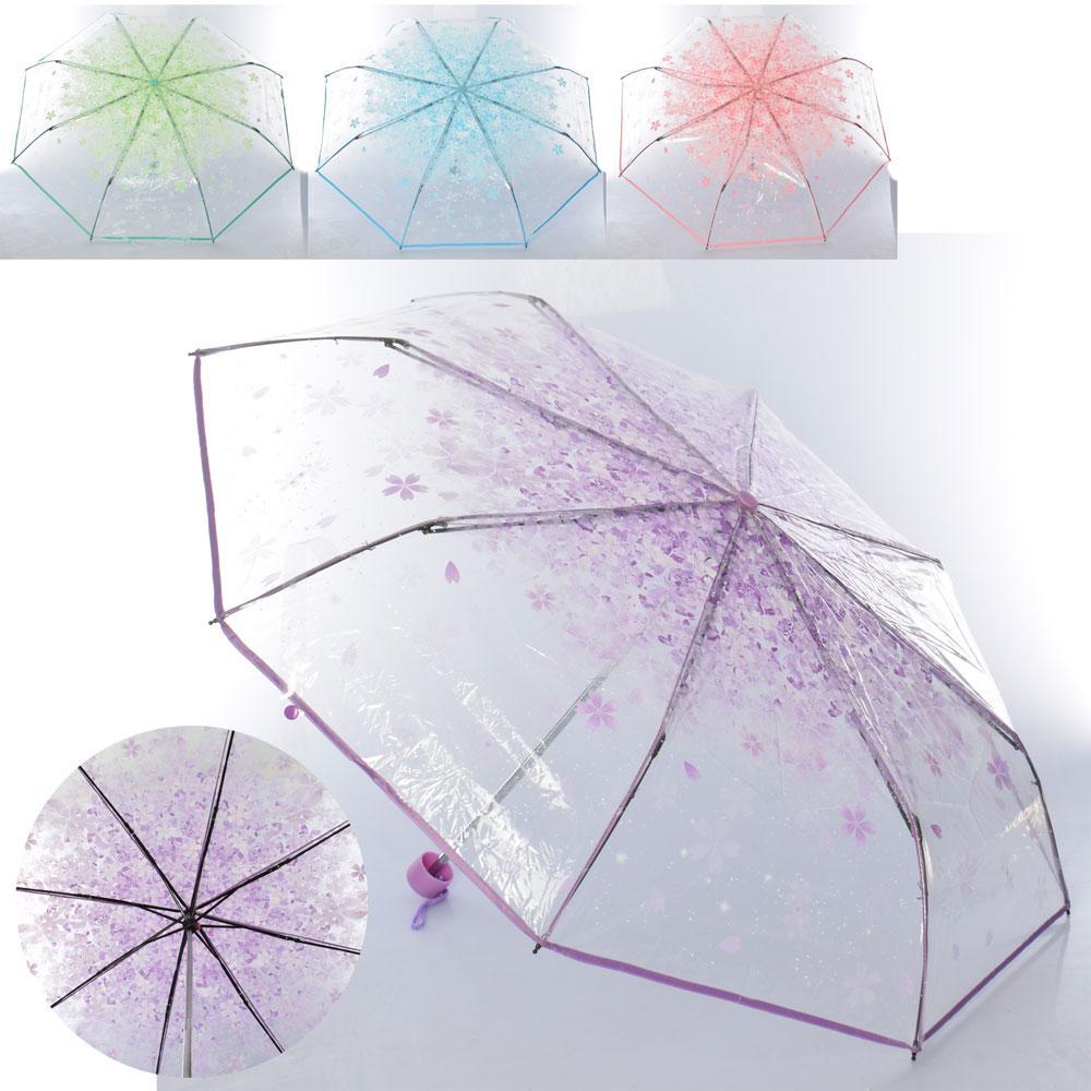 Зонтик MK 4465 (30шт) механич,трость56см,диам.97см,спица53см, клеенка,4цв,складн,кул,24-6-6см