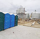 Биотуалет кабина с чашей Генуя, фото 9