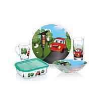 Набор стеклянный детский 5 предмета Luminarc Vroom Vroom