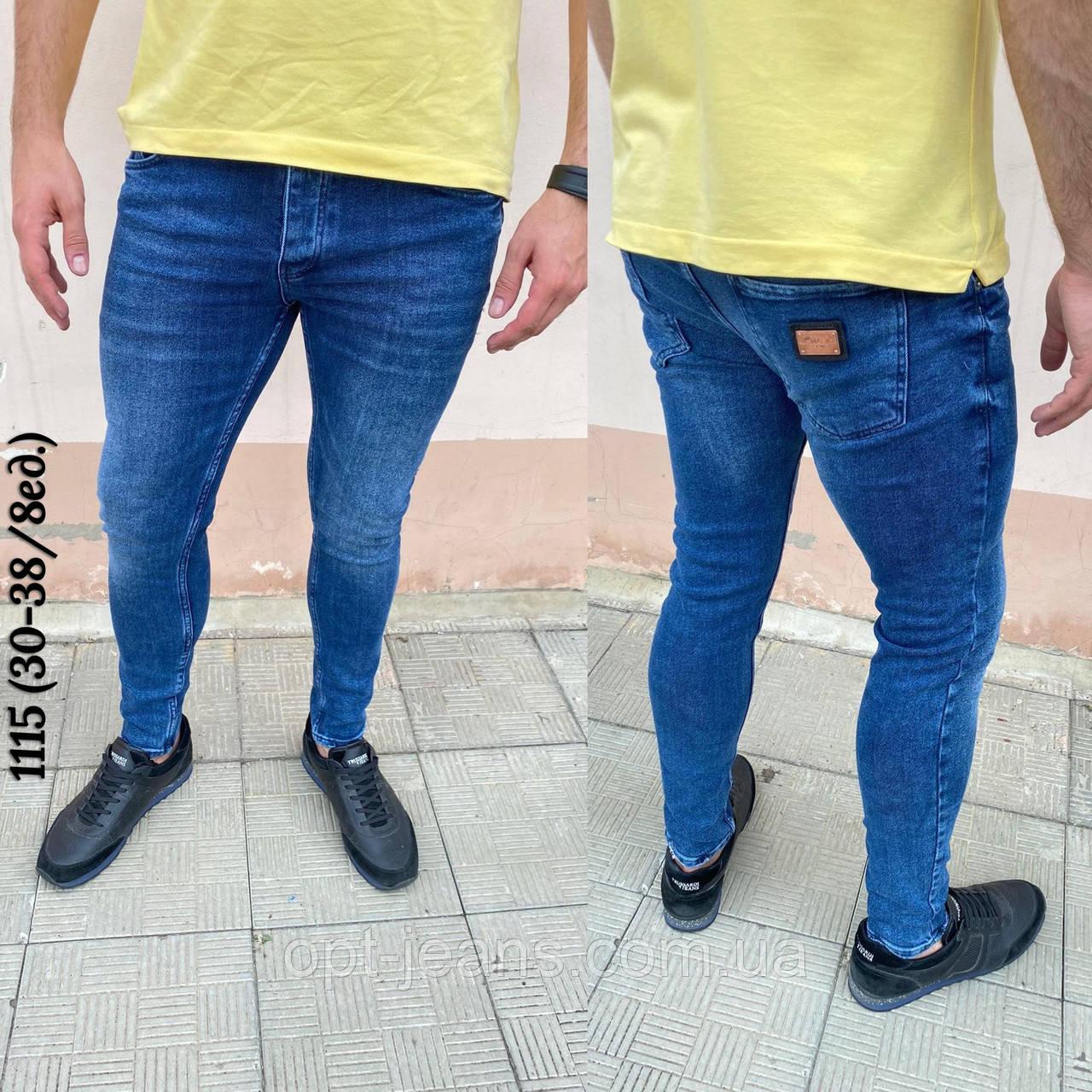 Mario мужские джинсы (30-38/8шт.)