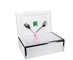 Инкубатор бытовой Наседка, на 100 яиц, механический, аналоговый, бока усилены металлом, нерж сетка