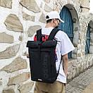 Брендовые спортивные рюкзаки Adidas вместительный черный городской школьный, фото 2