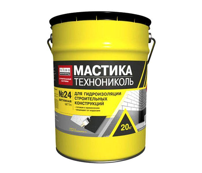 Мастика Техноніколь №24 МГТН бітумна 20кг