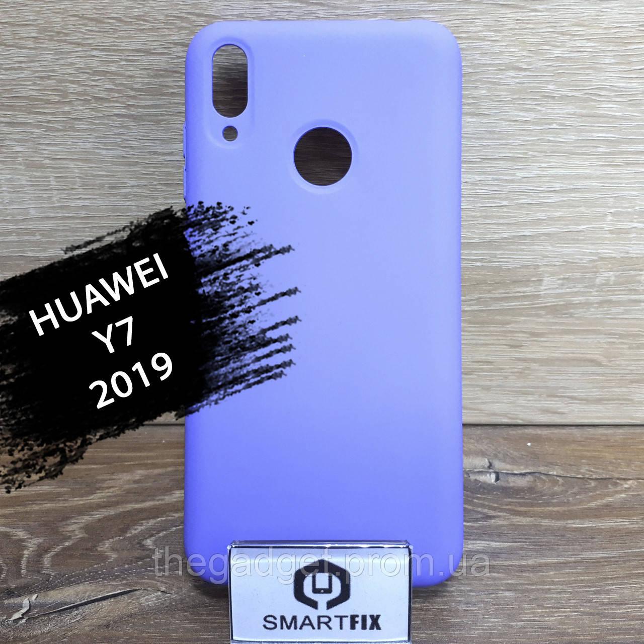 Силиконовый чехол для Huawei Y7 2019