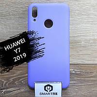 Силиконовый чехол для Huawei Y7 2019, фото 1