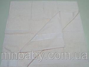 Полотенце махровое 70*140 см пудра