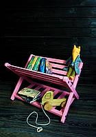 Детская полка для книг игрушек напольная Дитяча полиця стелаж для книг та іграшок