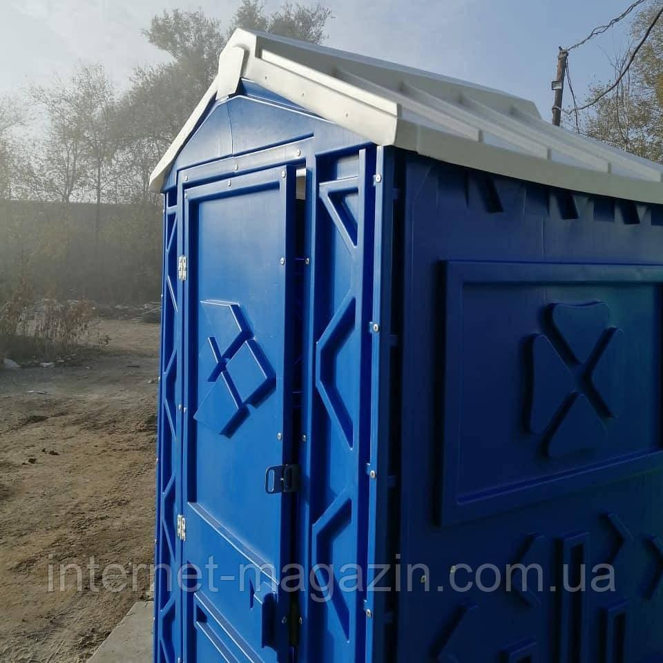 Биотуалет кабинка с умывальником и помпой