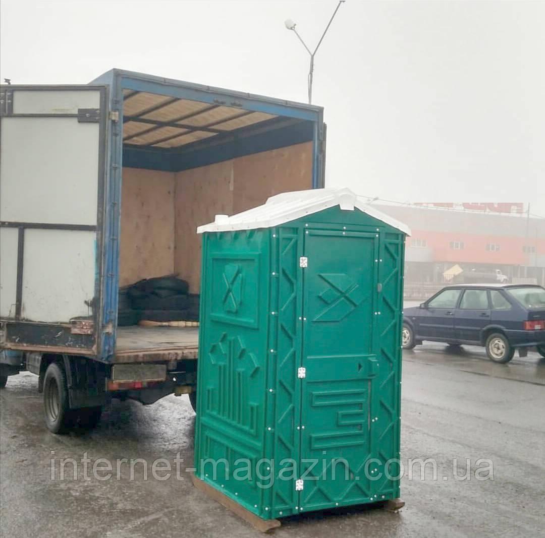 Туалетная кабина биотуалет с раковиной и умывальником