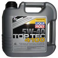 Моторное масло Top Tec 4100 5W-40 4 литра , Германия, Liqui Moly